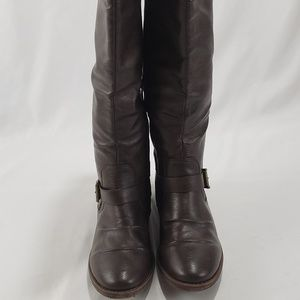 NWOB Rampage IVEXIN Brown Faux Leather Boots